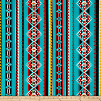Thunder Spirit Running River Stripe Turquoise