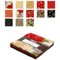 Kaufman Imperial Collection Charm Pack 42 Pcs. Crimson