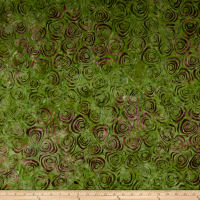Timeless Treasures Tonga Batik Lush Swirls Vine