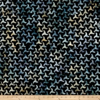 Timeless Treasures Tonga Batik Boathouse Ocean Waves Ebony