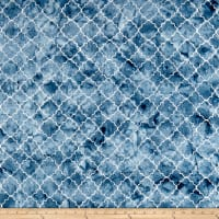 Timeless Treasures Tonga Batik Boathouse Moroccan Tile Pond