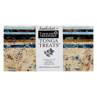 "Timeless Treasures Tonga Batik Treat Boathouse 10"" Square Pack Boathouse"