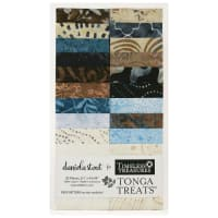 "Timeless Treasures Tonga Batik Treat Boathouse 2.5"" Strip Pack Boathouse"