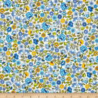 Andover/Makower Bloom Chintz Blue