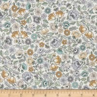 Andover/Makower Bloom Chintz Cream