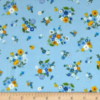 Andover/Makower Bloom Bouquet Blue