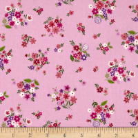 Andover/Makower Bloom Bouquet Pink