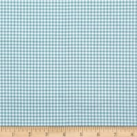Andover/Makower Counting Sheep Gingham Teal