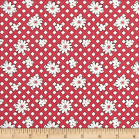Andover Lottie Ruth Geo Floral Red