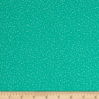 Michael Miller Holiday Frivoliday Spatter Dot Mint