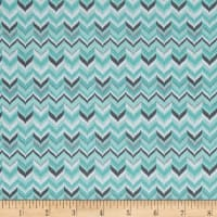 Michael Miller Rustique Winter Tweed Aqua