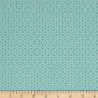 Michael Miller Rustique Winter Flurry Aqua