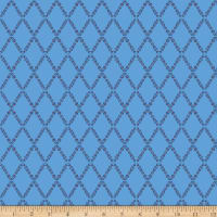 Harry Lattice Blue