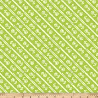 Riley Blake Simply Happy Stripe Lime