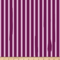 Riley Blake Kiss Me Kate Nail Polish Stripe Purple