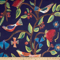 Lacefield Designs Global Market Birds of Eden Exclusive Navy