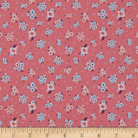 Riley Blake Hello Baby Floral Pink