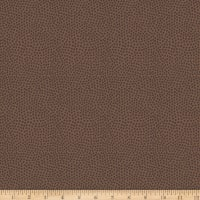 Riley Blake Varsity Ball Texture Brown