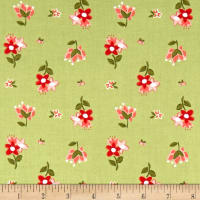 Riley Blake Summer Blush Posie Green