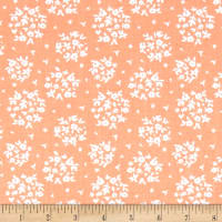 Riley Blake Summer Blush Puff Apricot