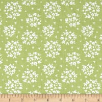 Riley Blake Summer Blush Puff Green