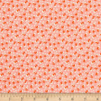 Riley Blake Lemonade Sundae Small Floral Pink