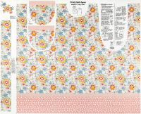 "Lemonade Sundae 44"" Apron Panel Cream"