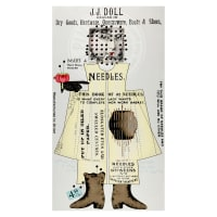 "Riley Blake Paperdoll Main 24"" Panel Multi"