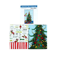 Kaufman How The Grinch Grinchmas Tree Countdown Quilt Kit Multi