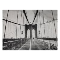Photorealism Jacquard Wall Decor/Panel Brooklyn Bridge