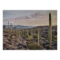 Photorealism Jacquard Wall Décor/Panel Arizona
