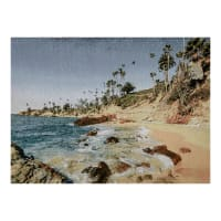 Photorealism Jacquard Wall Décor/Panel Laguna Beach