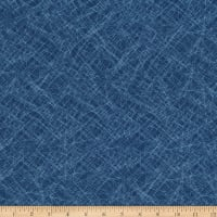 Kaufman Lou Lou Abstract Indigo