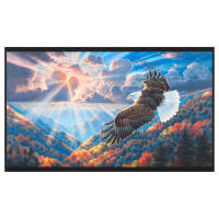 "Kaufman Patriots Americana 24"" Panel Eagles Multi"