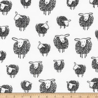 Kaufman Wooley Sheep Black