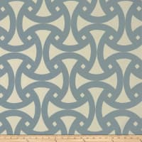 Schumacher Indoor/Outdoor Santorini Print Sky