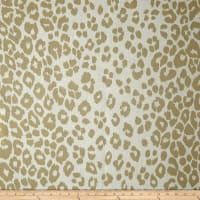 Schumacher Indoor/Outdoor Iconic Leopard Linen