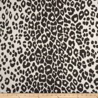 Schumacher Indoor/Outdoor Iconic Leopard Black