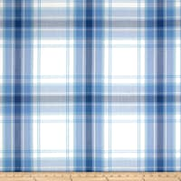 Schumacher St. Martin Plaid Cornflower