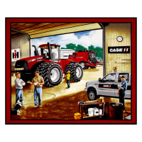 "Case IH Garage 36"" Panel Multi"