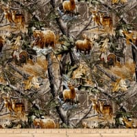 Realtree Animals Forest Allover
