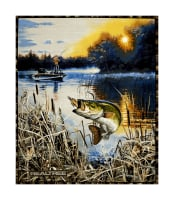 "Realtree Bass Fishing 36"" Panel Multi"