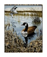 "Realtree Water Scenic Ducks 36"" Panel"
