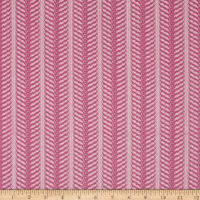 Stylized Stripe Lace Bubblegum Pink