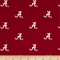 NCAA University of Alabama Crimson Tide Single Logo