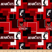 NCAA University of Cincinnati Blocks Allover
