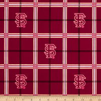 NCAA Florida State University Seminoles Flannel Plaid