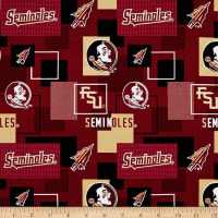 NCAA Florida State University Blocks Allover