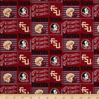 NCAA Florida State Patch Logos Allover Multi