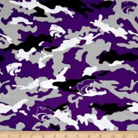 NCAA Kansas State University Camouflage Purple